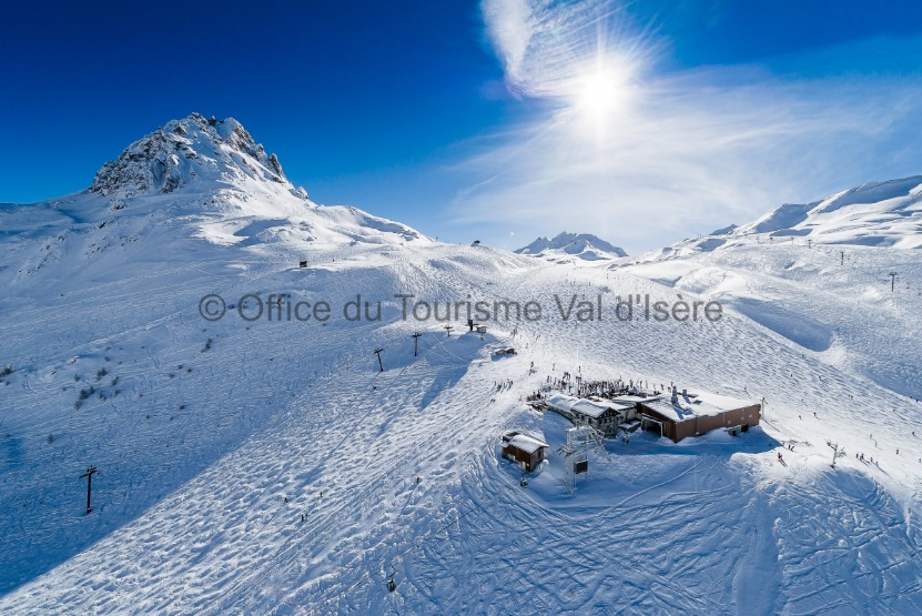 Het skigebied Espace Killy rond Val d'Isère